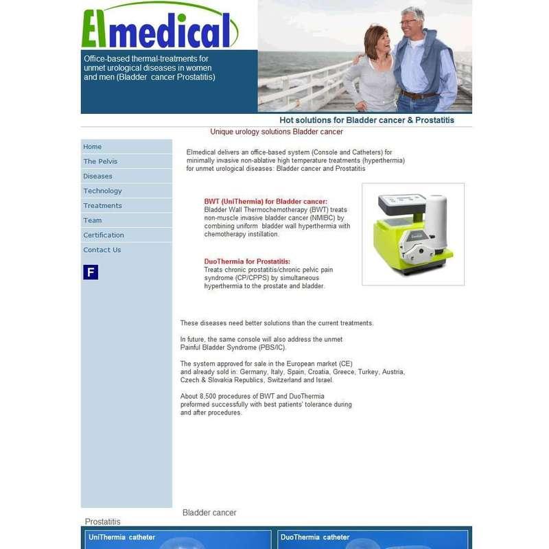 EL Medical - Hot solutions for Bladder cancer & Prostatitis