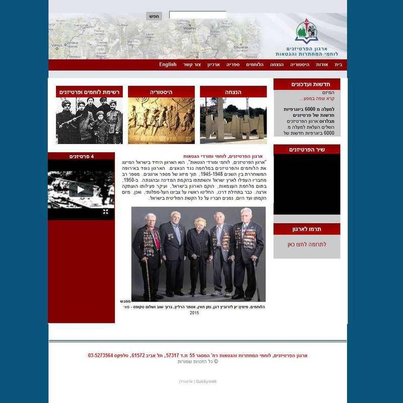 ארגון פרטיזנים לוחמי מחתרת גטאות | שואה